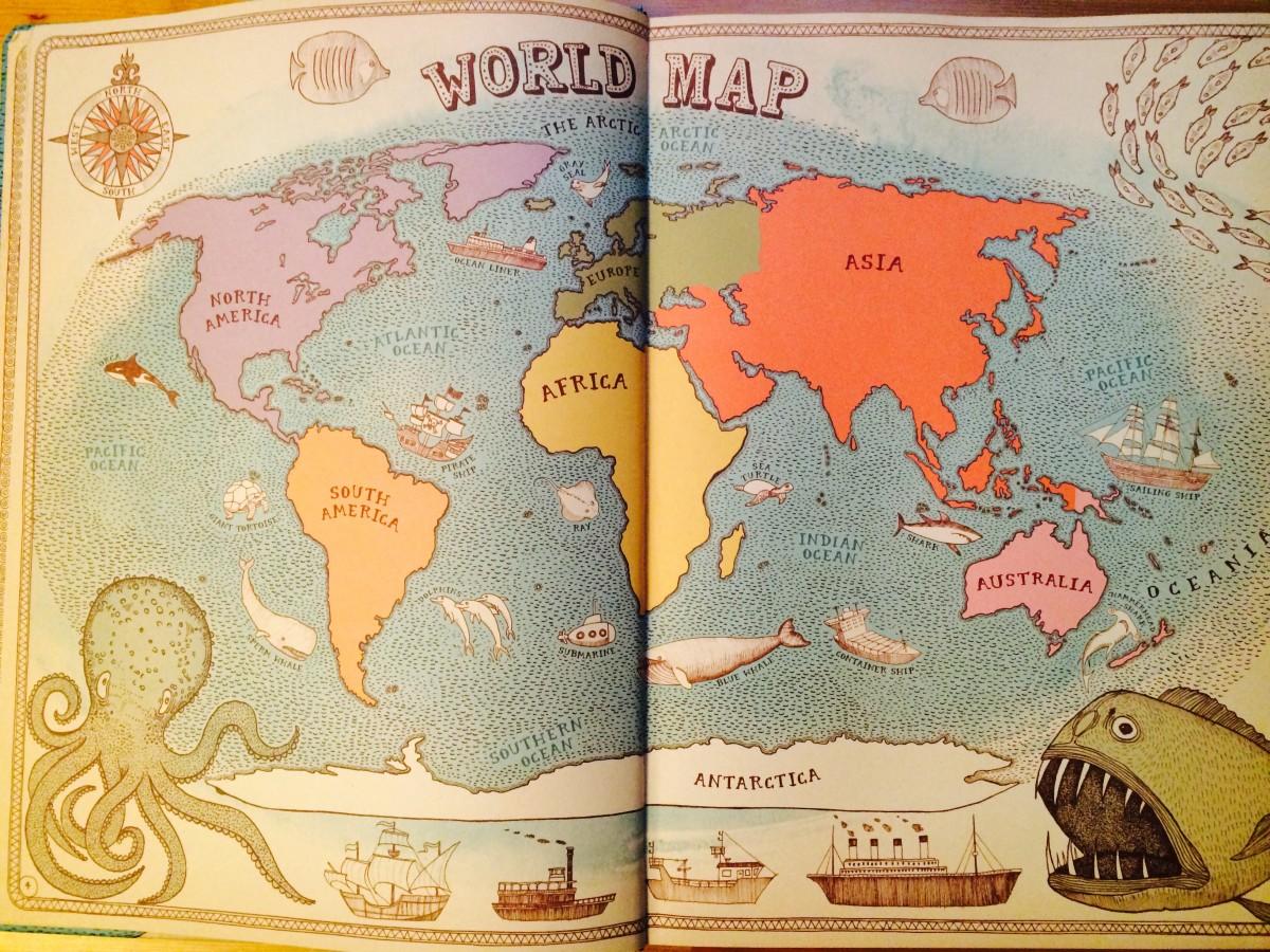 子供も大人も楽しめる世界地図「マップス: 新・世界図絵」を紹介したい